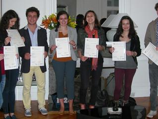 Remise de diplômes du First Certificate