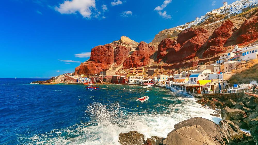 Santorini Paralies