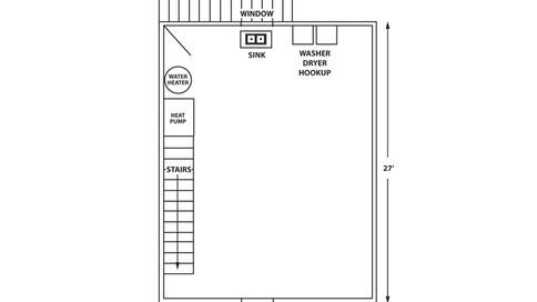 Cresmont Townhome Basement Floor Plan