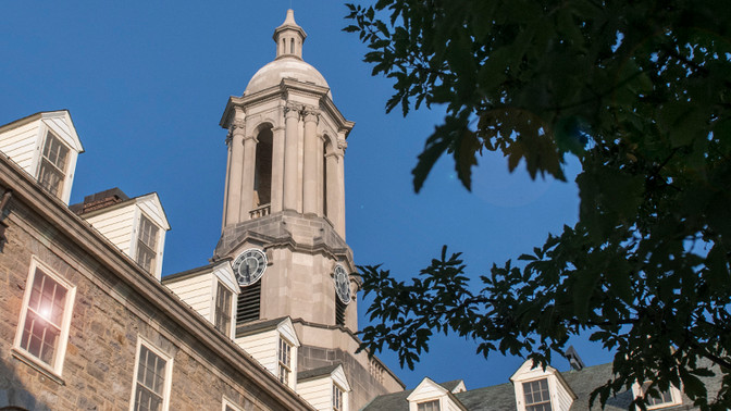 Old Main, at Penn State University Main Campus