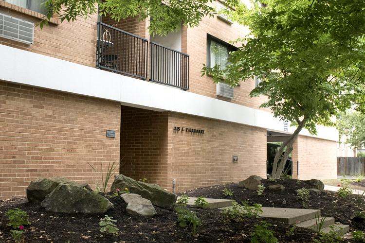 Exterior of Fairmount East Apartments Building I