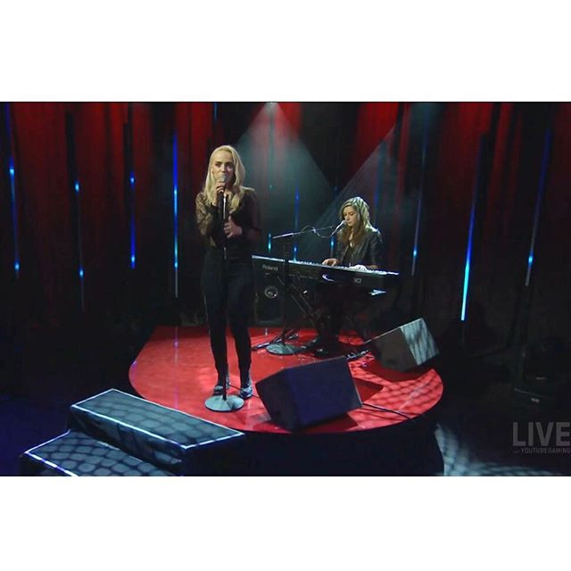 YouTube performance with Madilyn Bailey