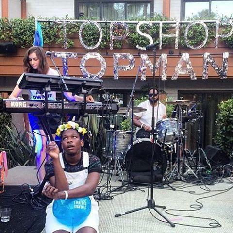 TopShop show, LA