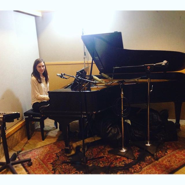 At Sunset Sound studions, Hollywood