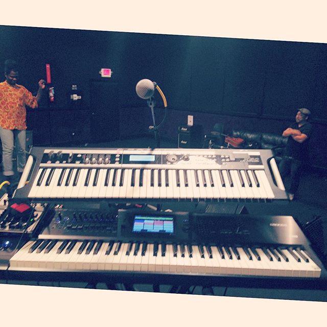 LA rehearsals