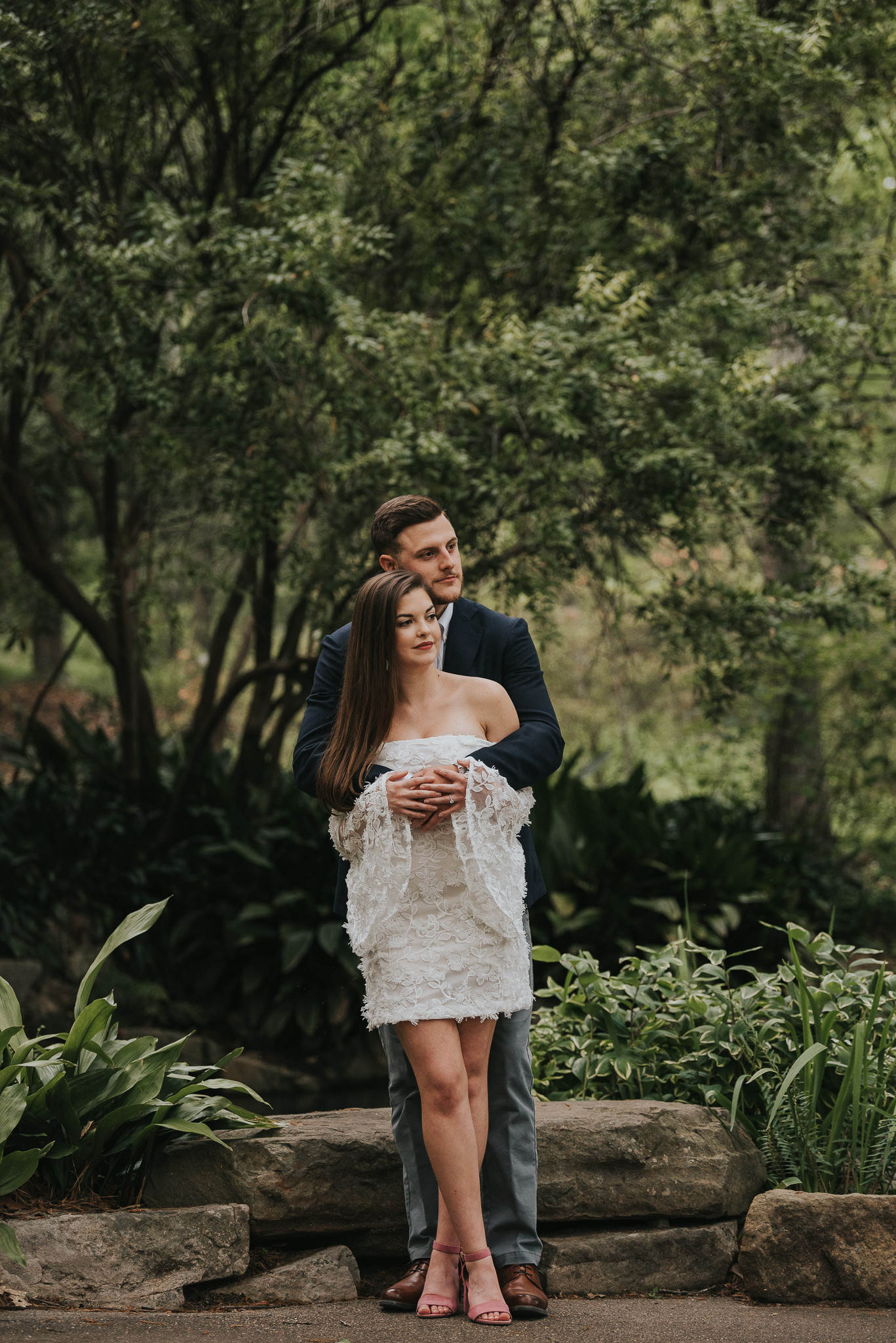 Birmingham Botanical Gardens Engagement Session