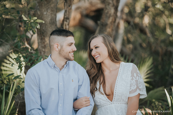 Cassie + Armon // Dauphin Island Engagement Session // Andalusia, AL Wedding