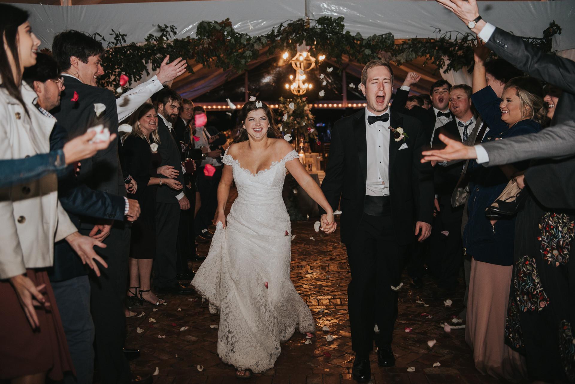 Auburn Alabama Wedding at Parker Hill
