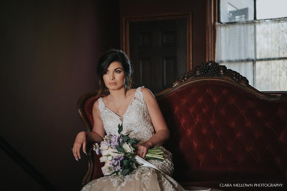 Bridal Session at Jemison Mansion
