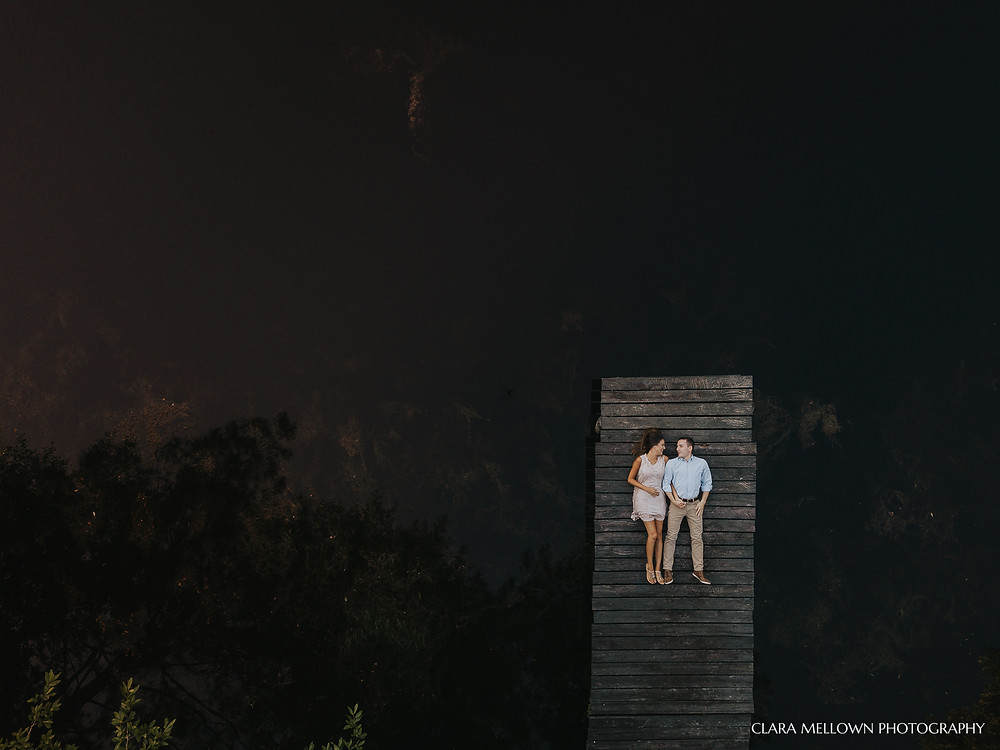 Drone Engagement Photography in Prattville, Alabama
