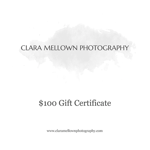 Gift Certificate: $100
