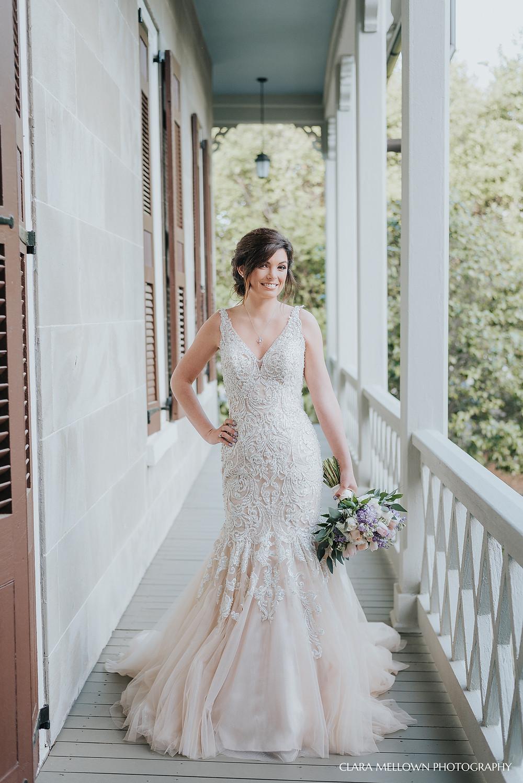 Jemison Mansion Bridal Session