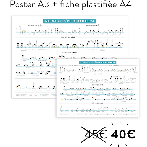PACK poster + fiche