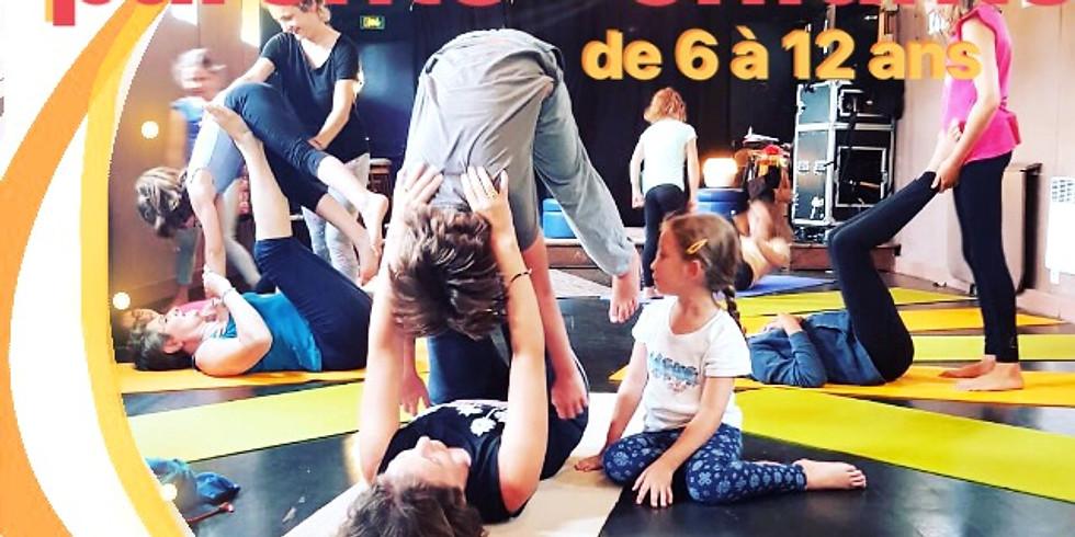 Atelier yoga parents - enfants ( 6-12 ans )