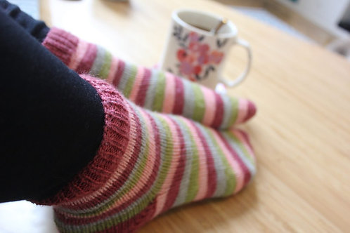 Tricot : chaussettes ou initiation !