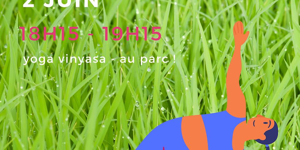 mardi 2 juin - au parc