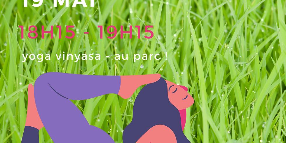 mardi 19 mai - au parc