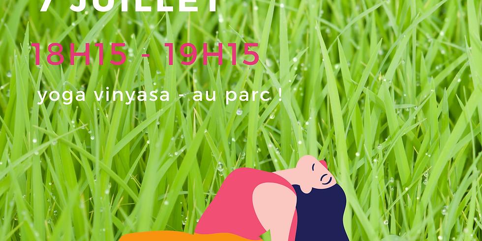mardi 7 juillet - au parc ( ou salle s'il pleut )