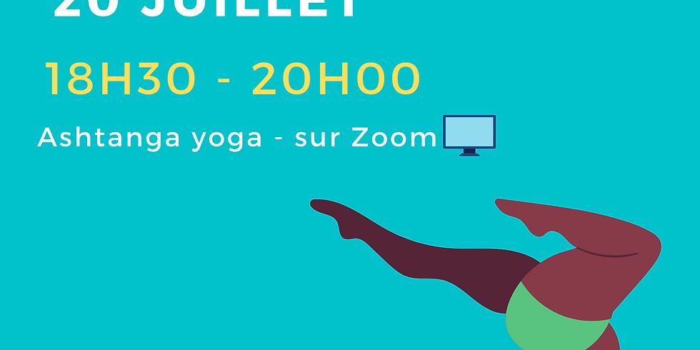 lundi 20 juillet : Cours en Visio sur ZOOM