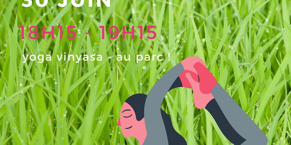 mardi 30 juin - au parc