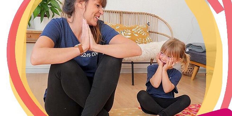 Atelier yoga parents - enfants ( 3-6 ans)