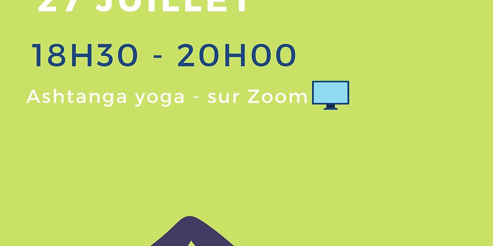 lundi 27 juillet : Cours en Visio sur ZOOM