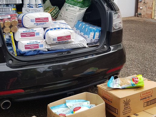 First Donations for Covid-19 Relief