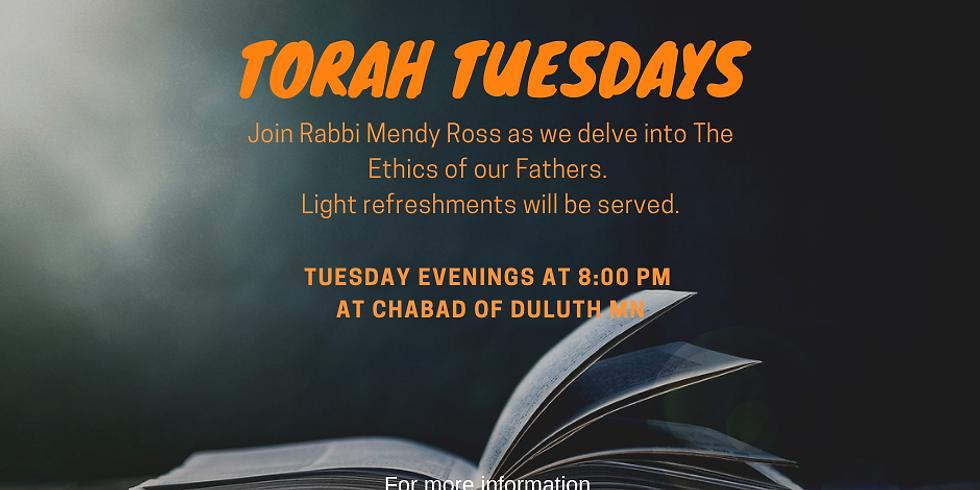 Torah Tuesdays