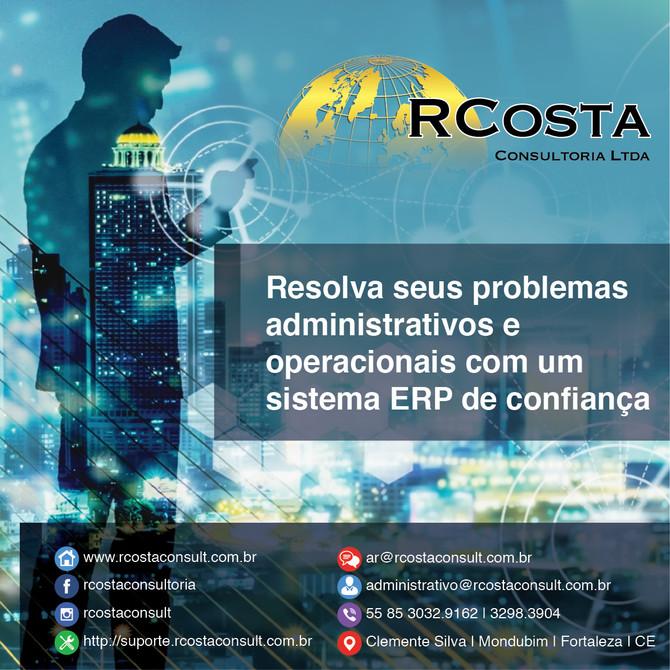 Resolva seus problemas administrativos e operacionais com um sistema ERP de confiança