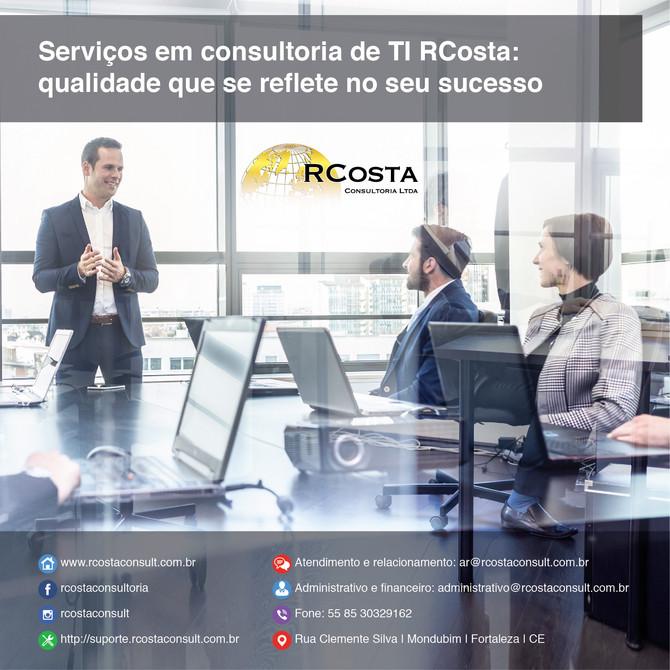 Serviços em consultoria RCosta