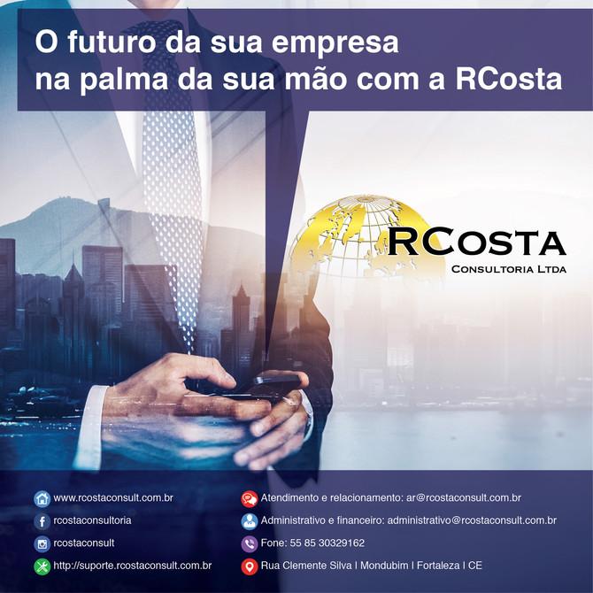 O futuro da sua empresa na palma da sua mão com a RCosta