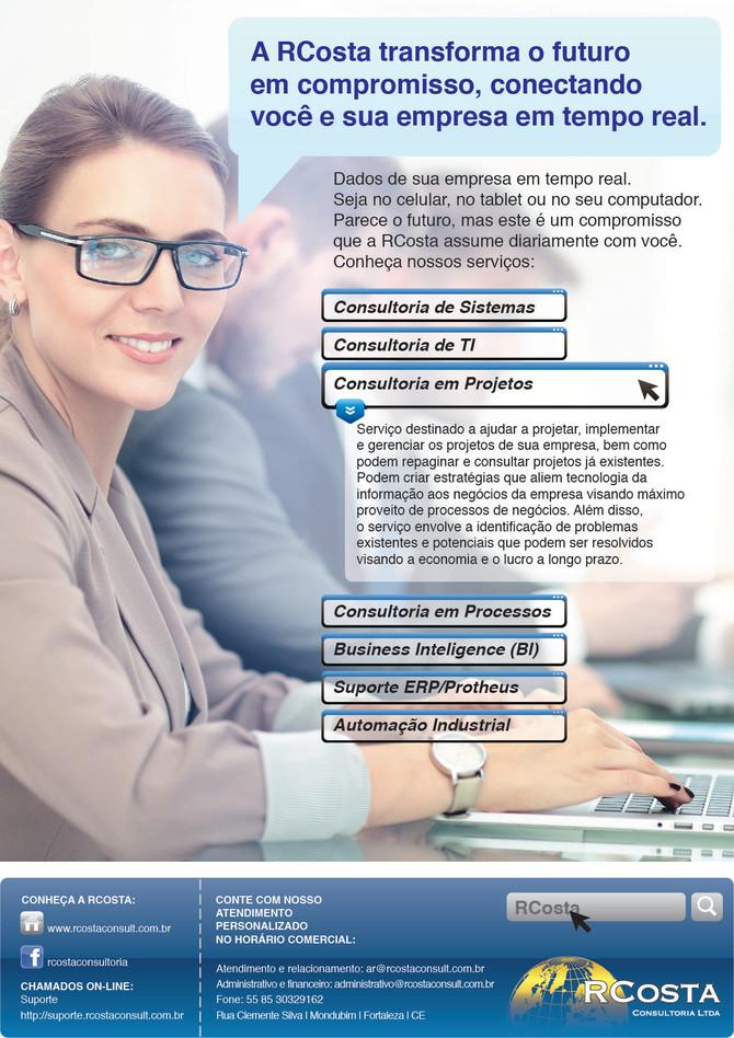 A RCosta transforma o futuro em compromisso, conectando você e sua empresa em tempo real.