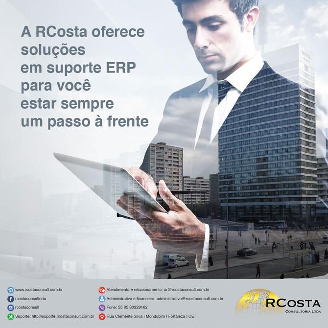 Soluções em suporte ERP