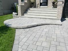 Uni stone paving