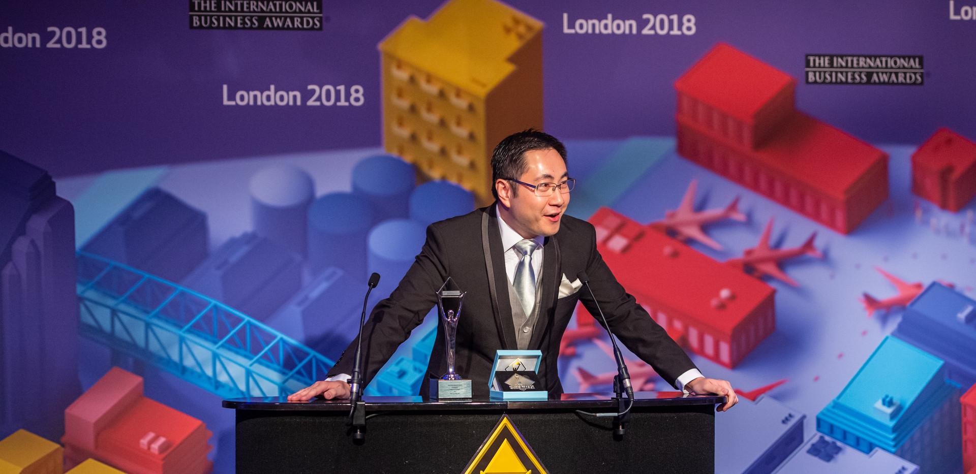 Mr. Kenneth K.Y. Poon received IBA 2018
