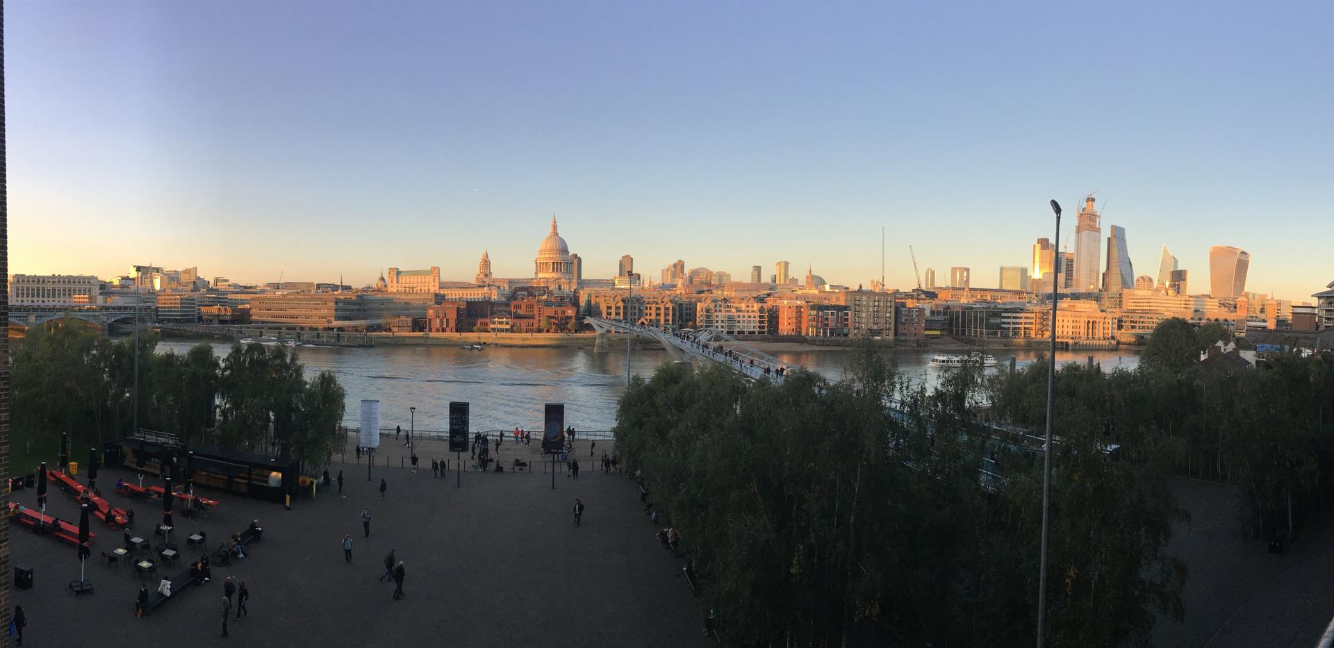Landscape photo of London