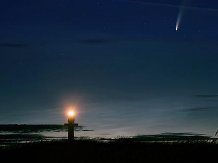 Neowise komet - Dueodde