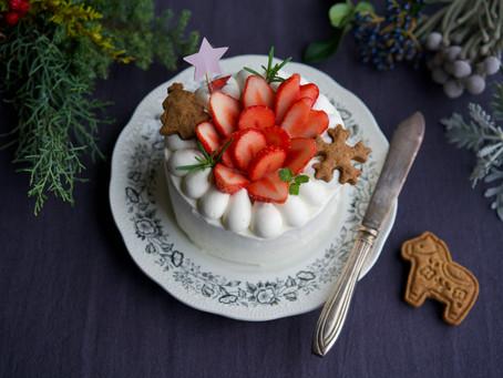 【受付終了・クリスマスケーキ予約販売のお知らせ】