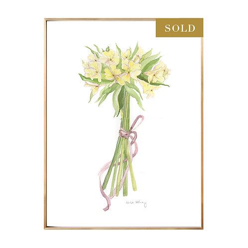 Original Bouquet Watercolor