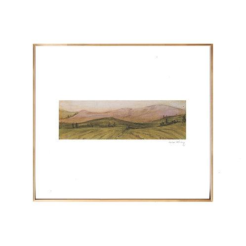 Tuscan Landscape NO.1 (Giclée quality prints $18-$82)