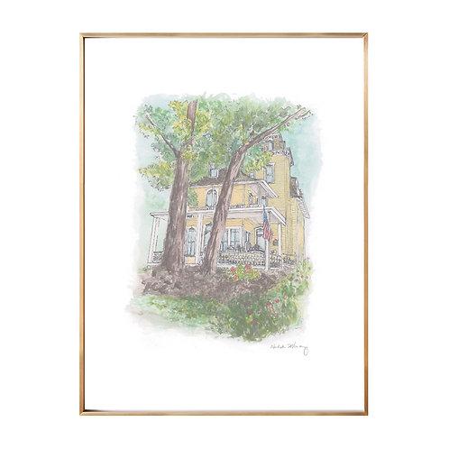 Home Portrait Series NO.6 (Giclée quality prints $18-$82)