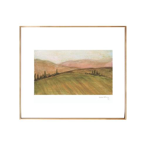 Tuscan Landscape NO.2 (Giclée quality prints $18-$82)