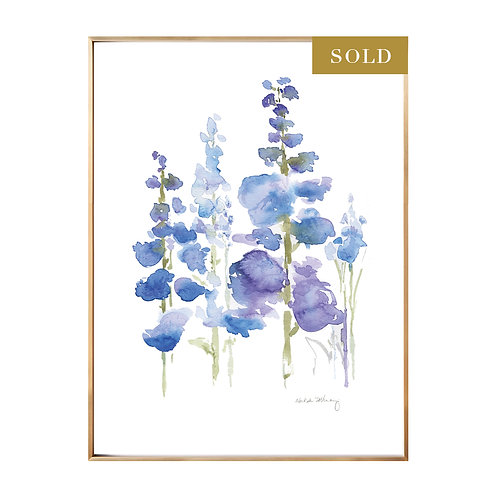 Original Watercolor Flower