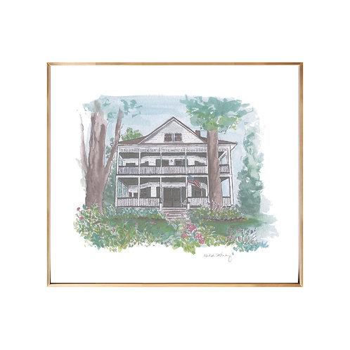 Home Portrait Series NO.1 (Giclée quality prints $18-$82)