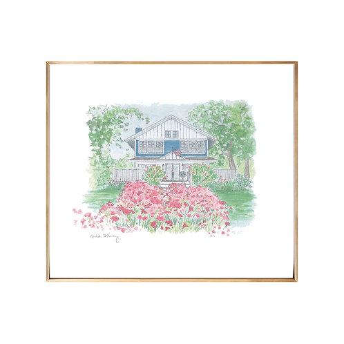 Home Portrait Series NO.2 (Giclée quality prints $18-$82)