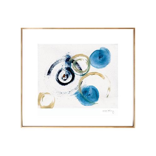 Blue NO.6 (Giclée quality prints $18-$82)