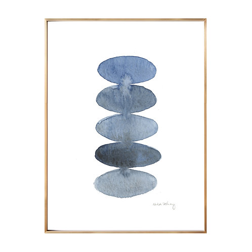 Blue Stones (Giclée quality prints $18-$82)
