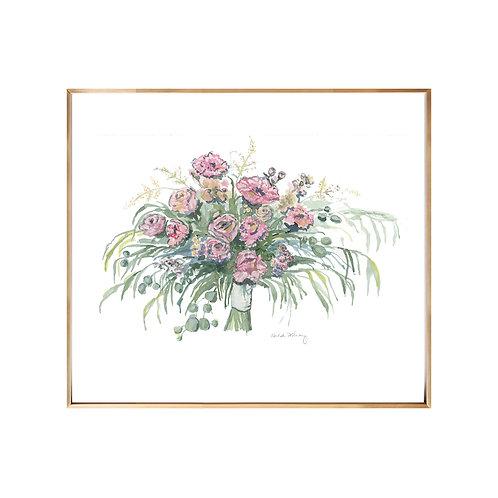 Bouquet NO.3 Original Watercolor