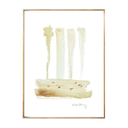 Gold Flow NO.3 (Giclée quality prints $18-$82)