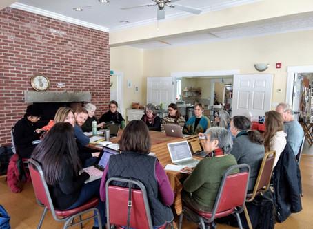 Installers and Town Volunteers Meet to Make Plans